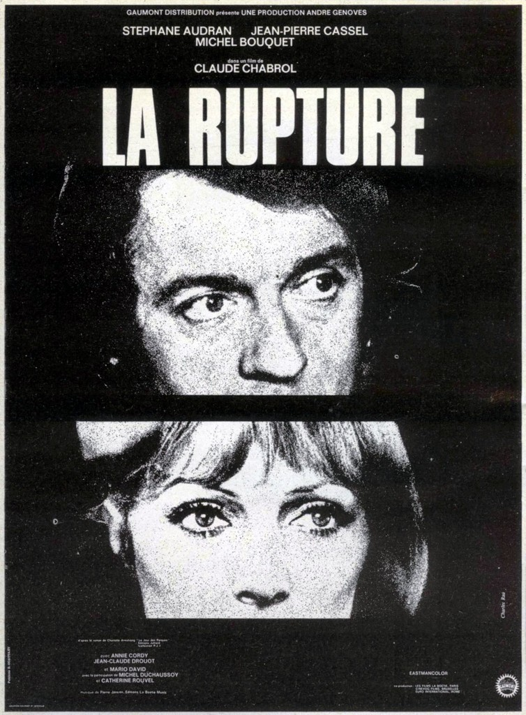 affiche cinema la rupture