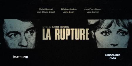 LA RUPTURE (1970) de Claude Chabrol
