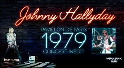 JOHNNY HALLYDAY PAVILLON DE PARIS (1979) de Nano Pucci