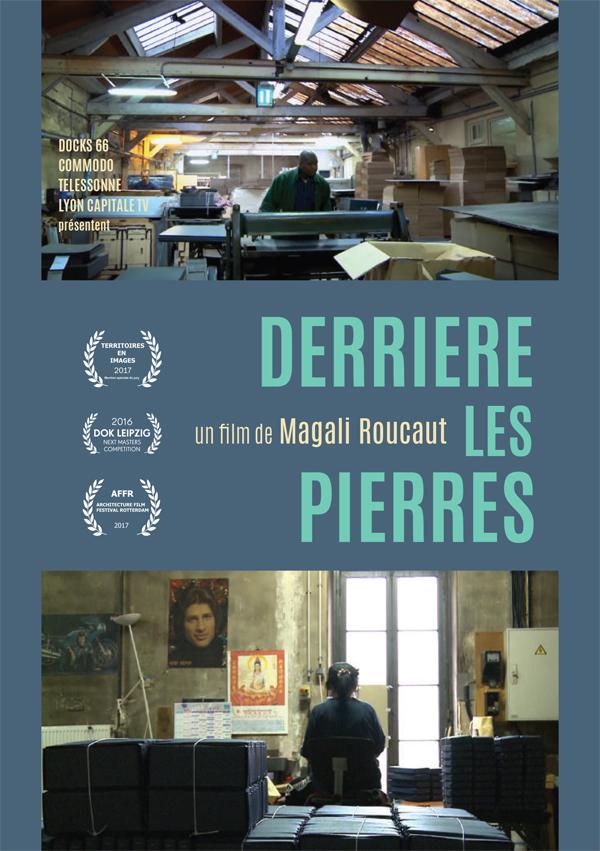 AFFICHE CINEMA DERRIÈRE LES PIERRES