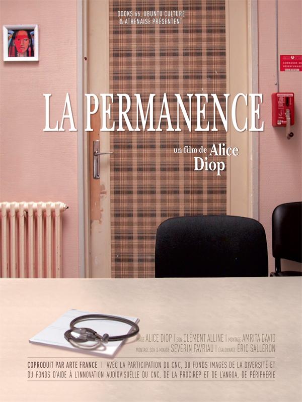 Affiche cinéma La permanence