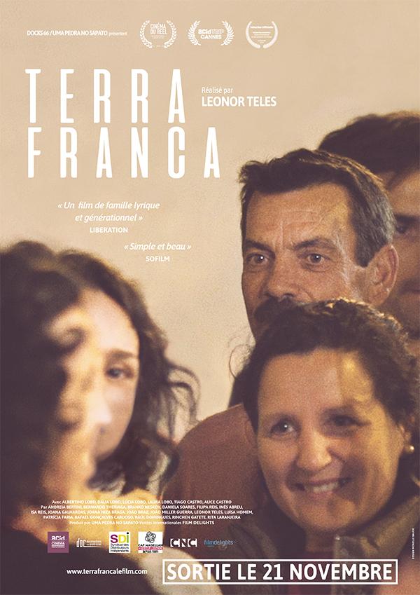 AFFICHE CINEMA TERRA FRANCA
