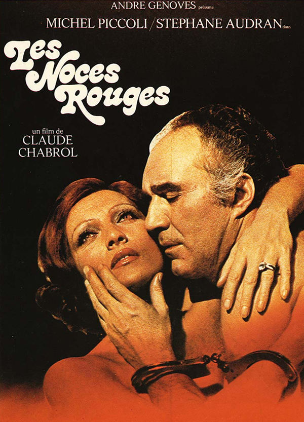 AFFICHE CINEMA LES NOCES ROUGES