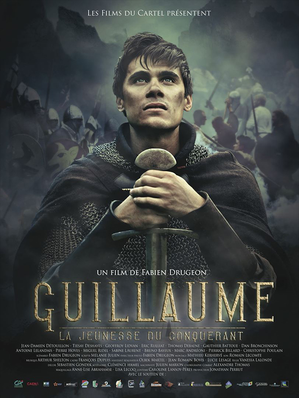 AFFICHE cinema GUILLAUME LA JEUNESSE DU CONQUERANT