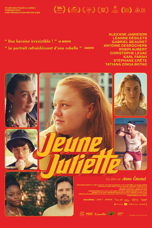 AFFICHE CINEMA JEUNE JULIETTE