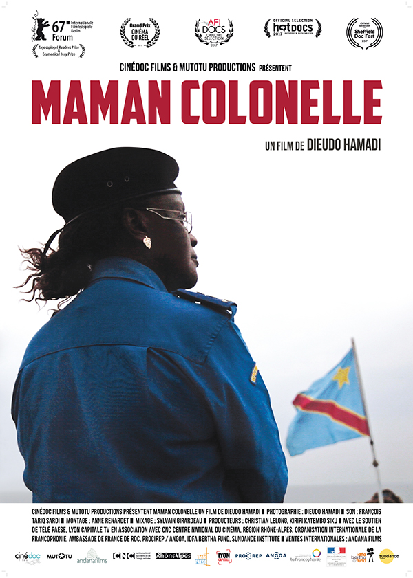 affiche cinema MAMAN COLONELLE