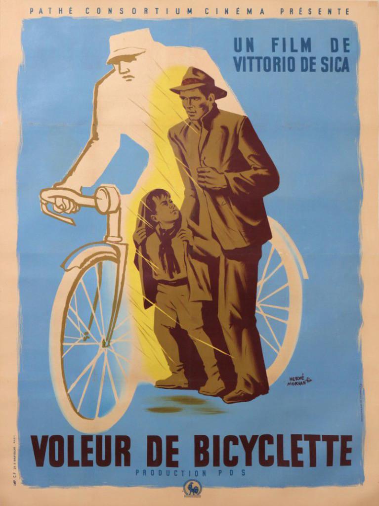 AFFICHE CINEMA VOLEUR DE BICYCLETTE