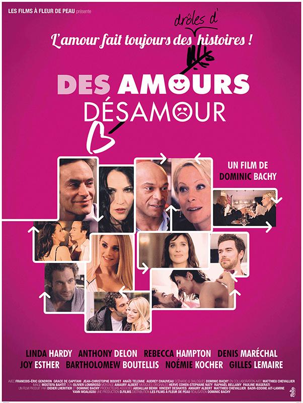 Affiche CINEMA Des amours désamours