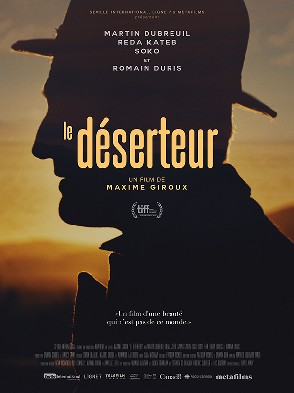 AFFICHE CINEMA LE DESERTEUR