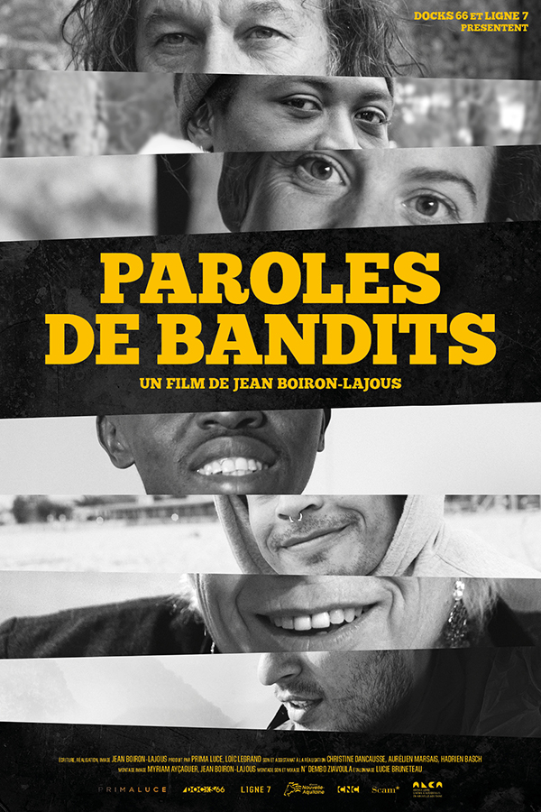 affiche cinema paroles de bandits
