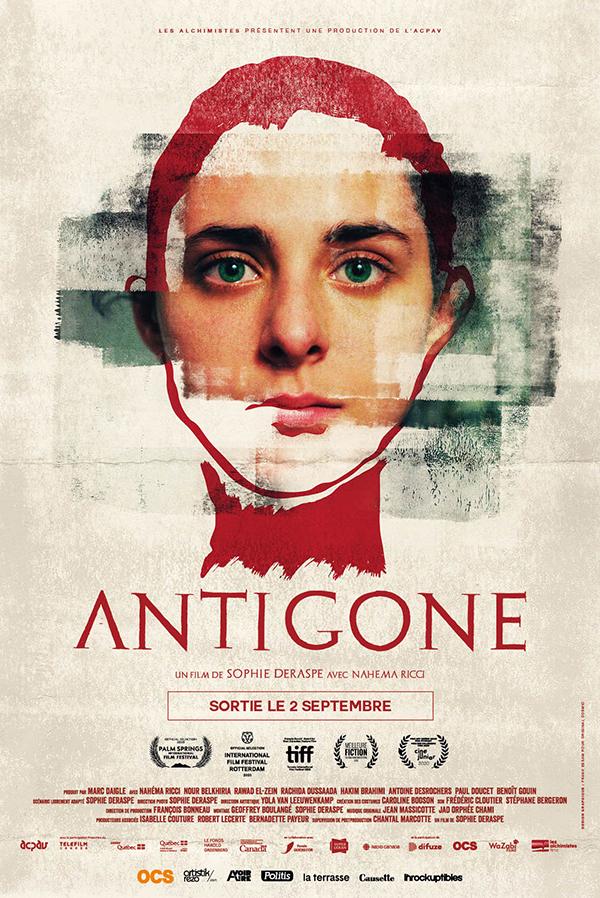 Affiche cinéma Antigone