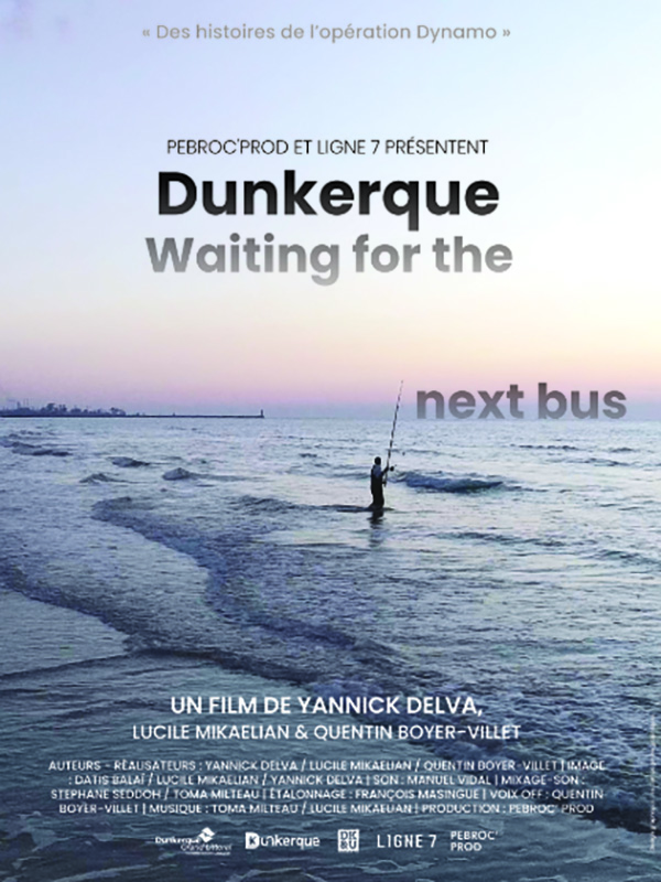 affiche cinema Dunkerque waiting for the next bus