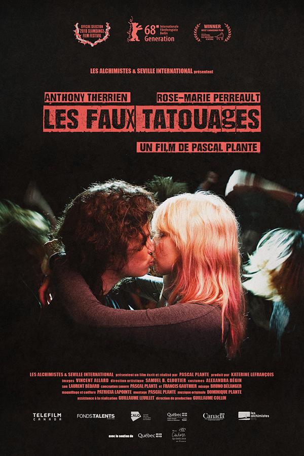Affiche CINEMA Les Faux Tatouages