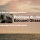 POÉTIQUE DU DIVERS ÉDOUARD GLISSANT (2018) de Guillaume Robillard